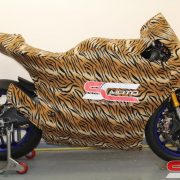 Yamaha R1 Track Bike Custom Motorcycle Cover 1 4