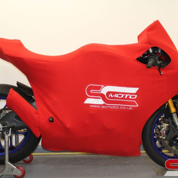 Yamaha R1 track bike Custom motorcycle cover 4-4