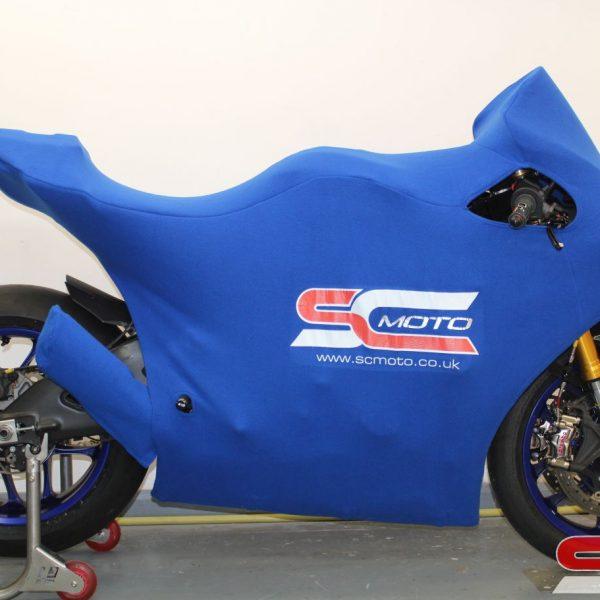 Yamaha R1 Track Bike Custom Motorcycle Cover 5 4