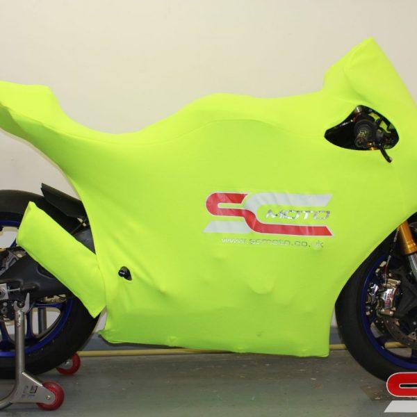 Yamaha R1 Track Bike Custom Motorcycle Cover 6 4